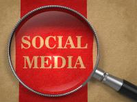 Social Media under magnifying glass