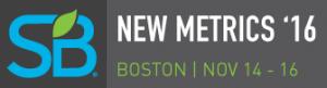Sustainable Brands New Metrics '16