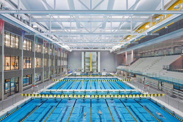 University of Iowa CRWC Natatorium