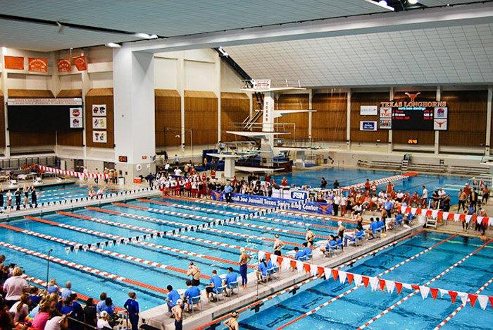 Lee and Joe Jamail Texas Swimming Center