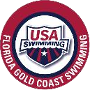 Florida Gold Coast Swimming logo