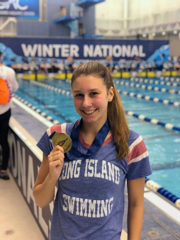 Chloe stepanek collegeswimming - Long island swim school garden city ...