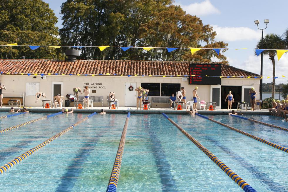 College Swimming Rankings >> Rollins College