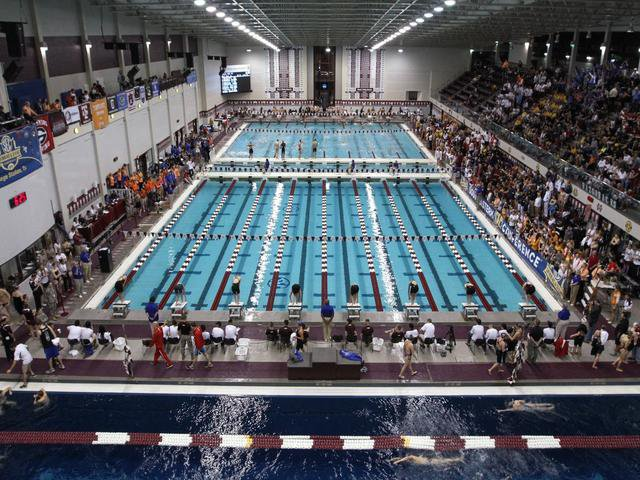 Texas A&M Student Recreation Center Natatorium