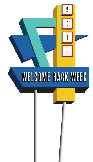 2018 Welcome Back Week Logo