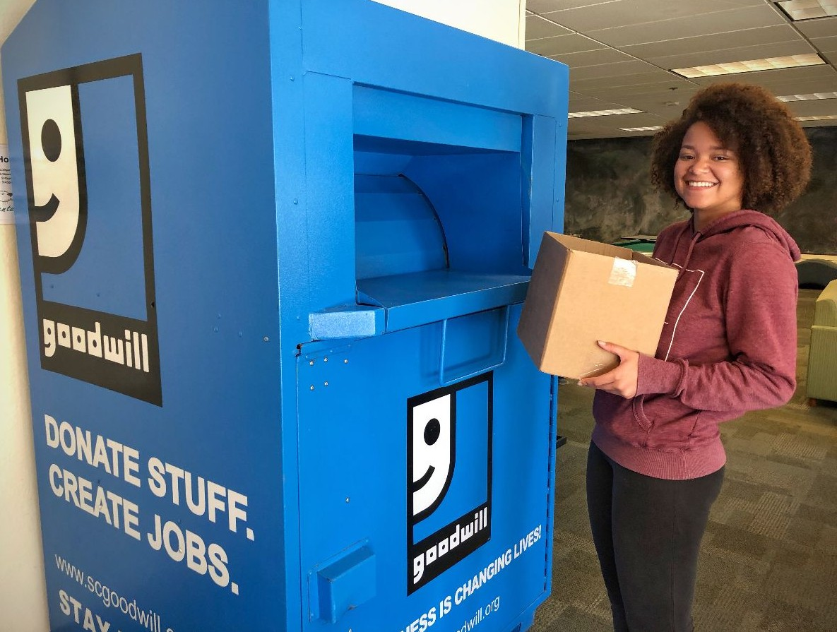 Goodwill Campus Move-Out 2019   Cal State Monterey Bay