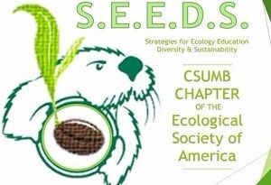 S.E.E.D.S. logo otter and plant