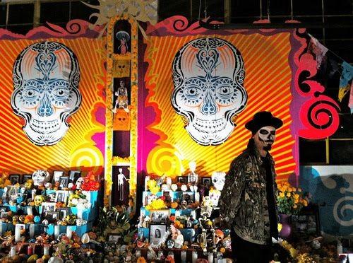 Dia de lose Muertos altar