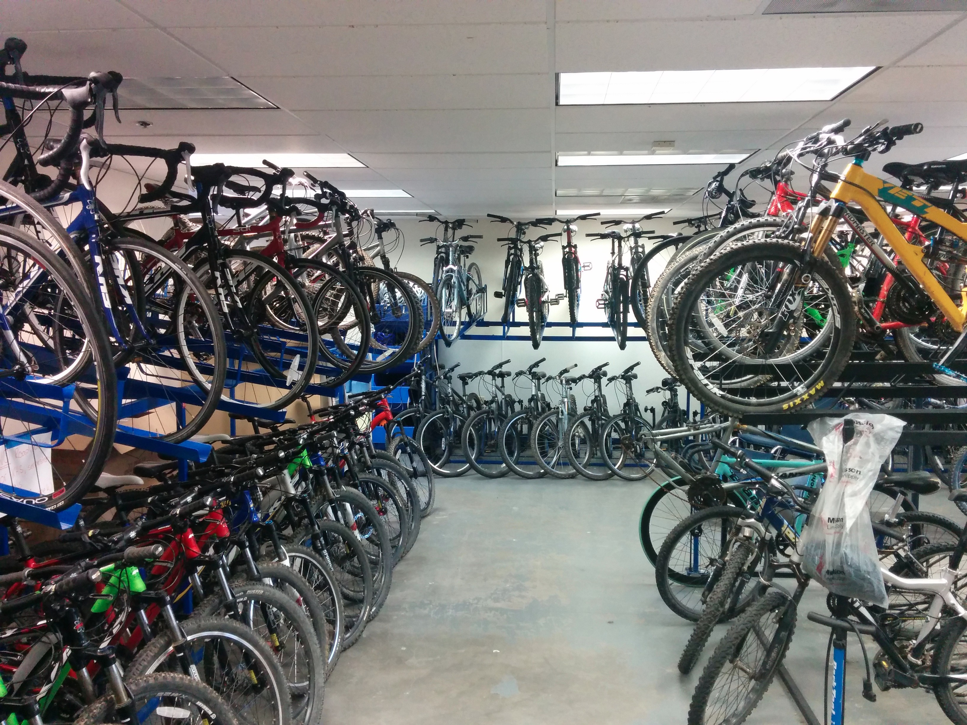 otter cycle center, shop photo