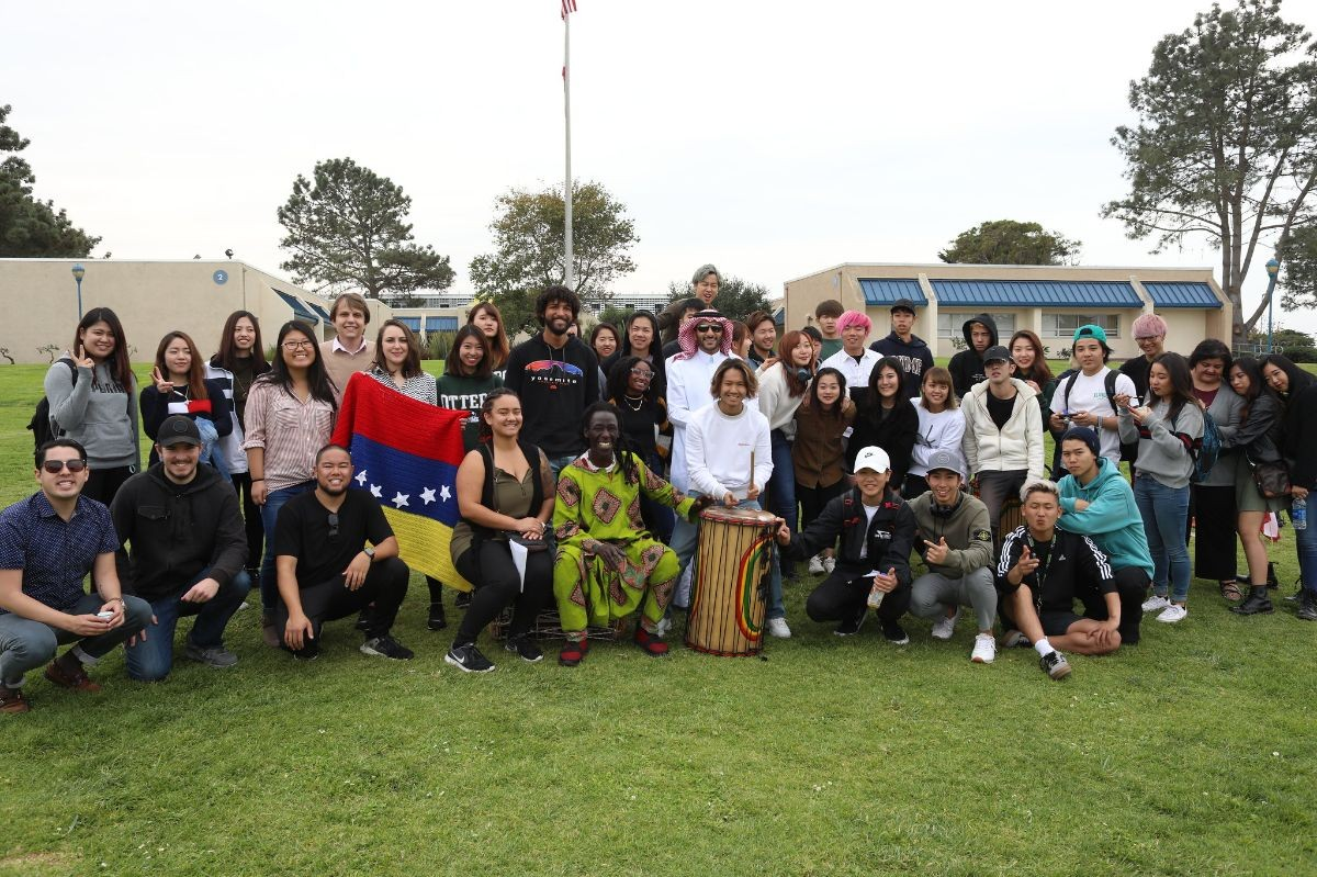 International Education Week Photo on Main Quad