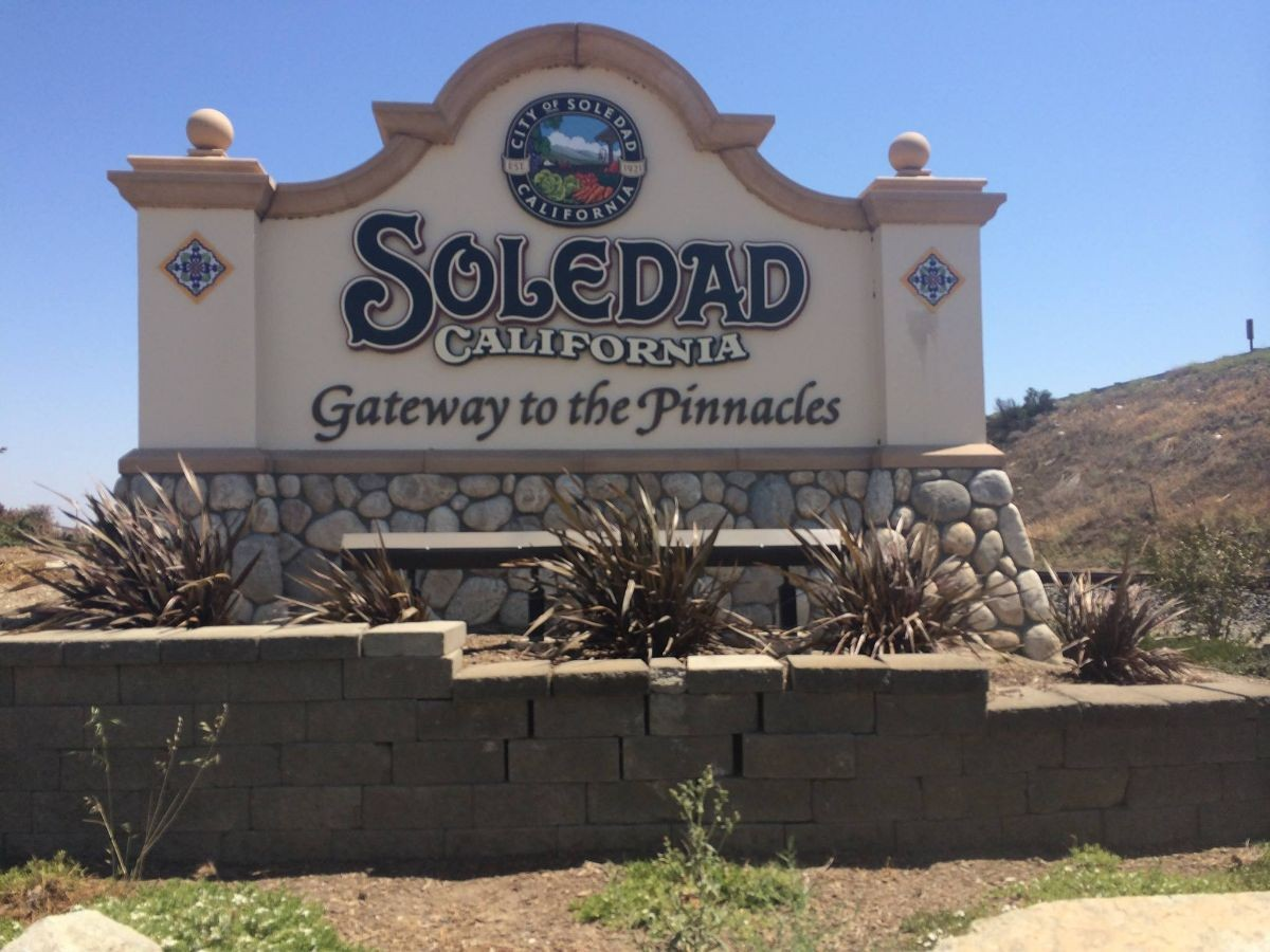 Sign for the City of Soledad
