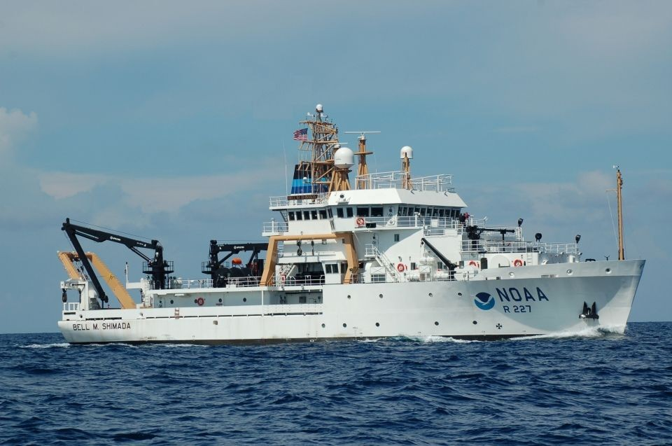NOAA's Bell M.  Shimada