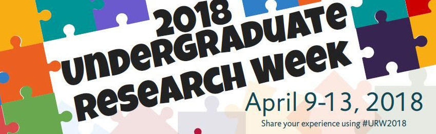 Undergraduate Research Week Banner