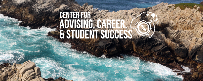 Photo of the Center for advising, career and student success logo