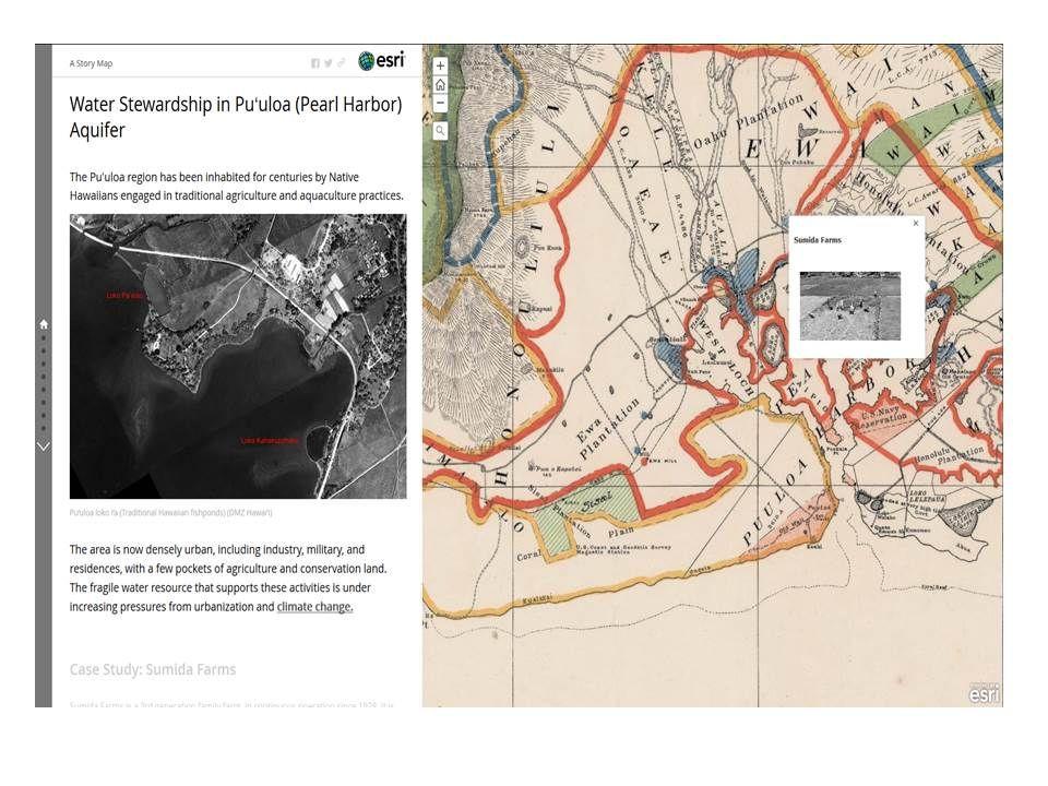ESRI Story Map