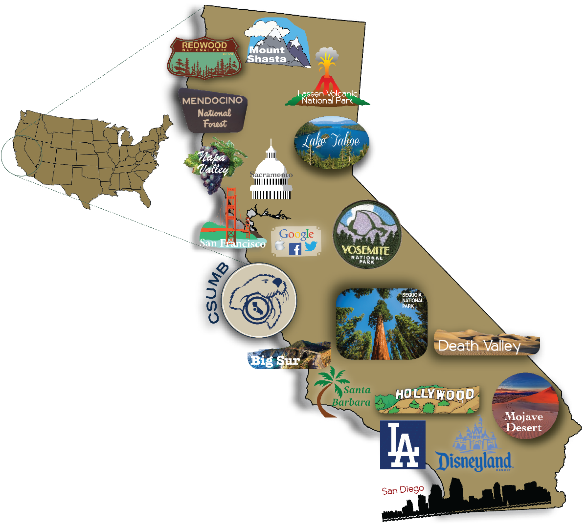 California Attractions