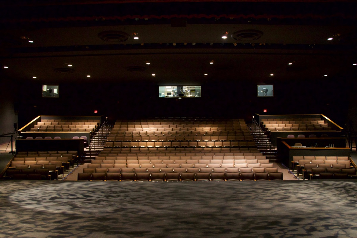 View of Seating from the Stage