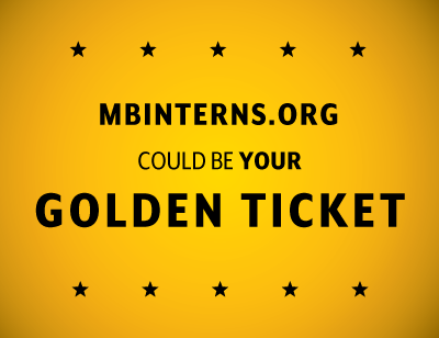 Monterey Bay Internships Golden Ticket