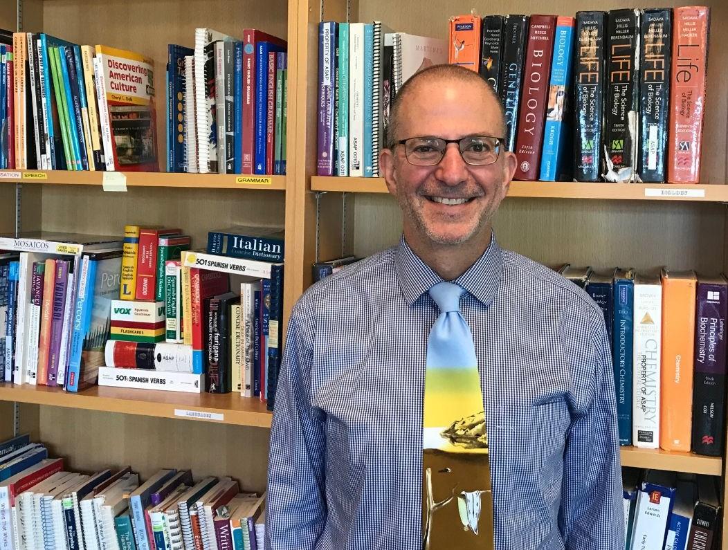 Communications Across the Disciplines associate professor, Nelson Graff