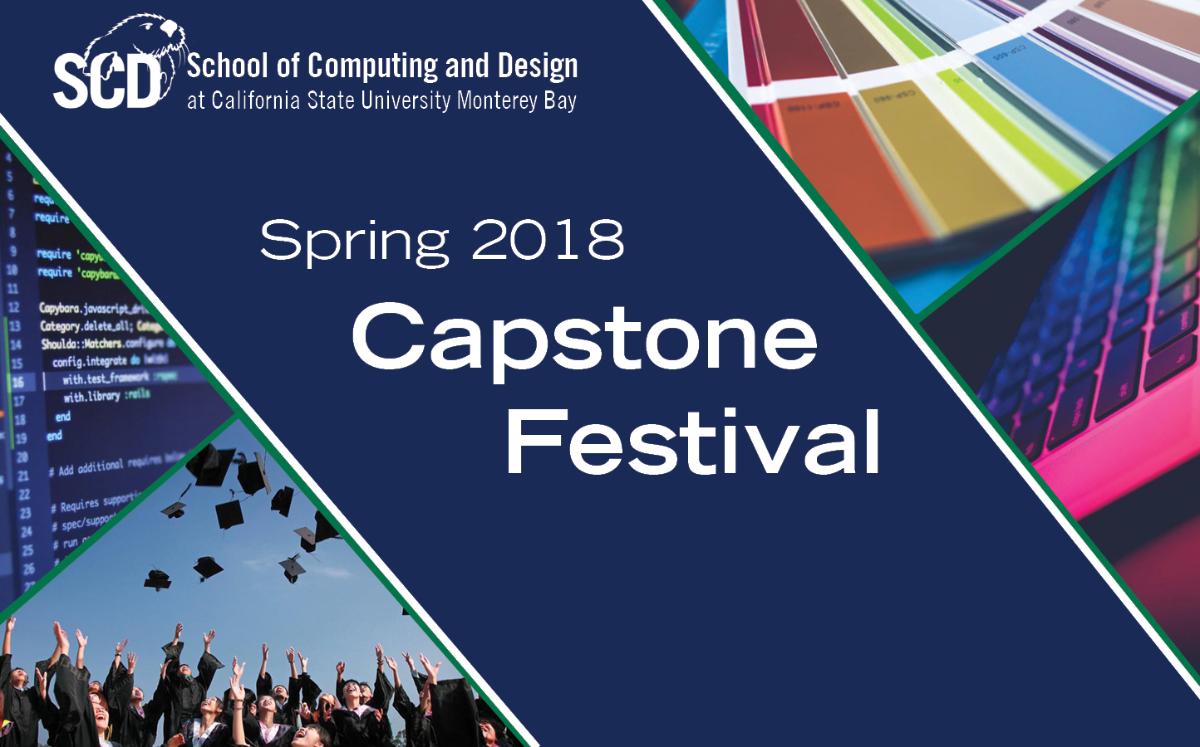 Spring 2018 Capstone Festival banner