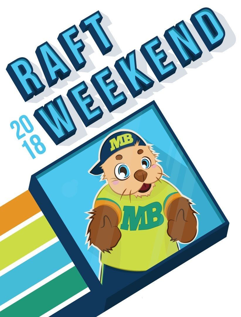 2018 RAFT weekend logo