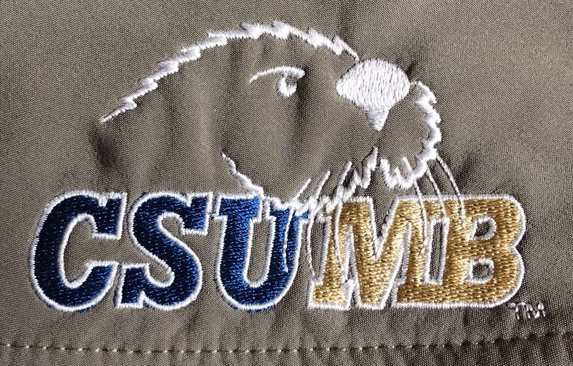 full athletics logo, with Otter head and CSUMB