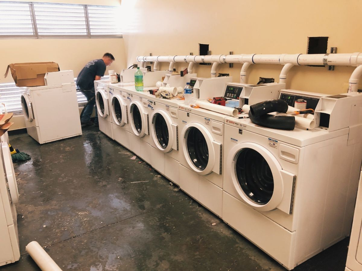 Pinnacles Laundry Room Retrofitting