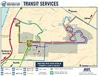 Transit Services map thumbnail