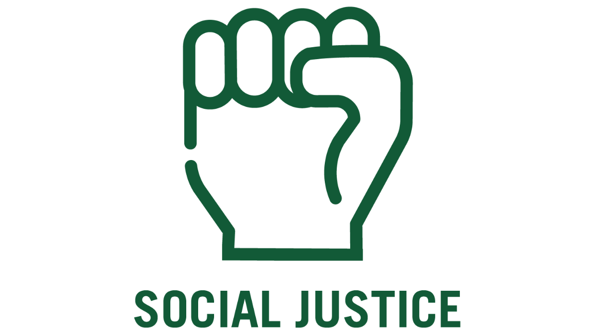 social justice and fist icon