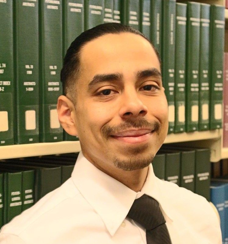 Psychology major and UROC researcher, Jorge Cabrera.
