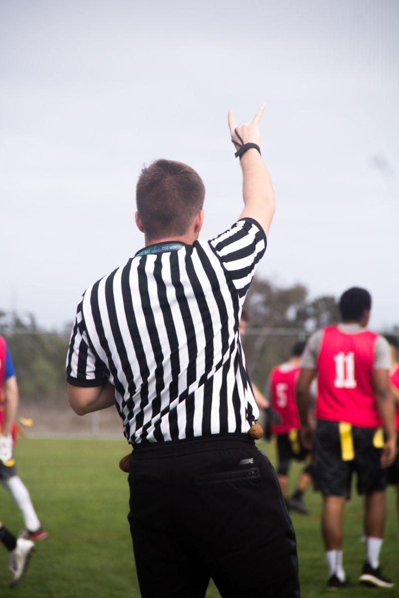 live action Flag Football photo