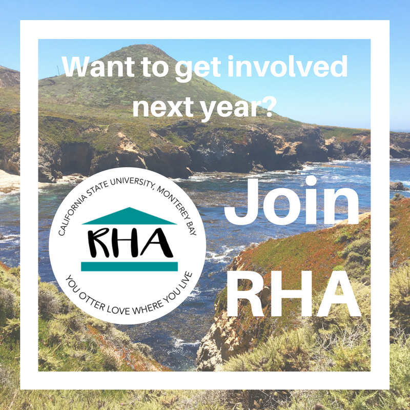 Want to get involved next year? Join RHA
