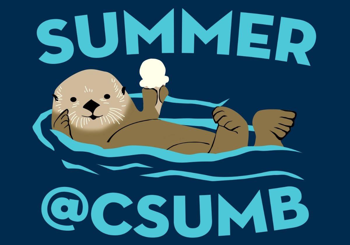 Summer@CSUMB T-Shirt logo