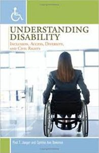 book cover understanding disability