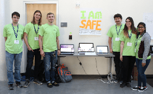I Am Safe - Hackathon 2017 First Place Winners