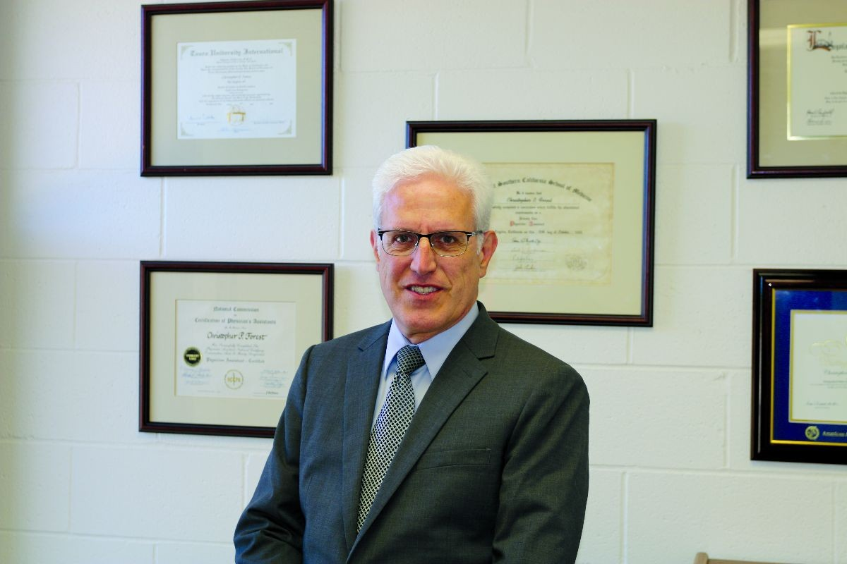 Professor Christopher Forest is the newly hired director of the program