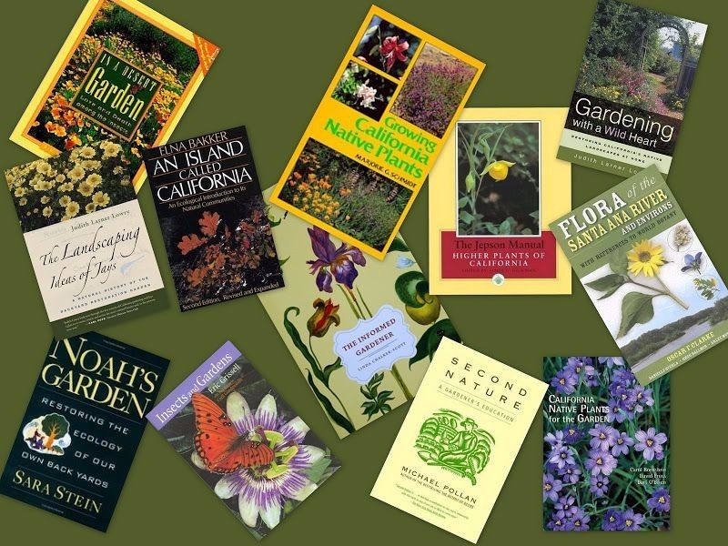 books about native plants and gardening
