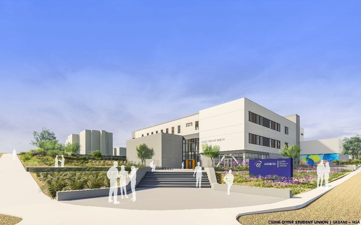 front otter student union rendering