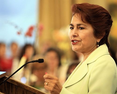 Community Woman of Distinction Honoree Anna Caballero