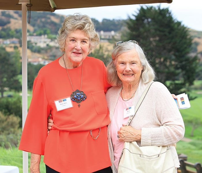 CWD Honoree Mary Kay Crockett and Bertie Bialek Elliott