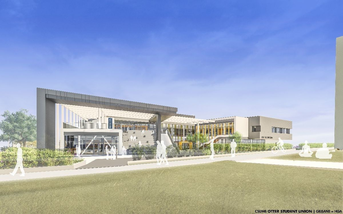 Otter Student Union rendering