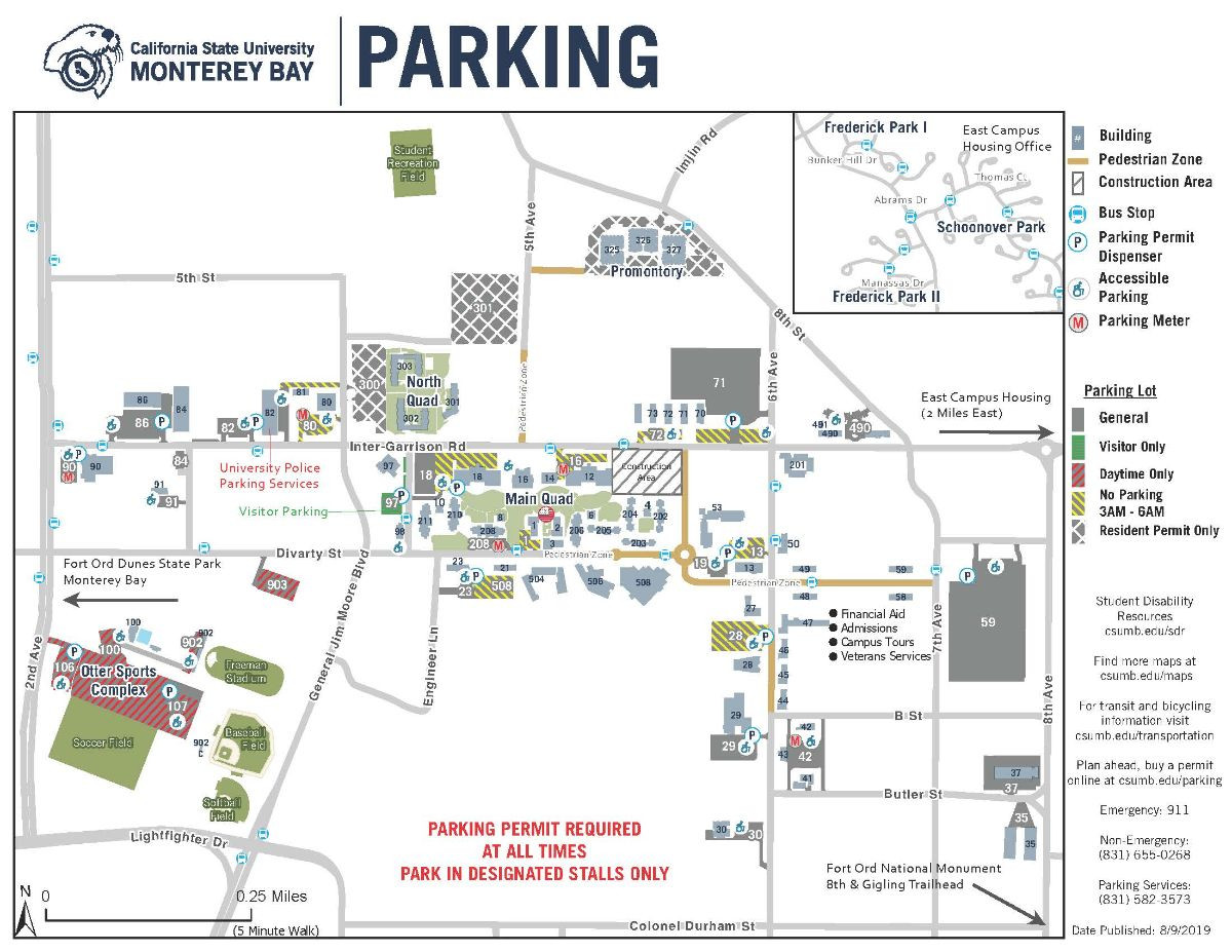 Parking map map thumbnail