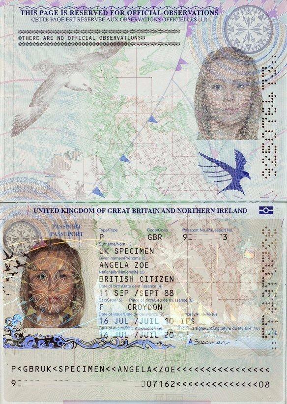 Bio Passport Page