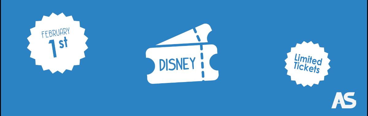 AS Disneyland tickets banner