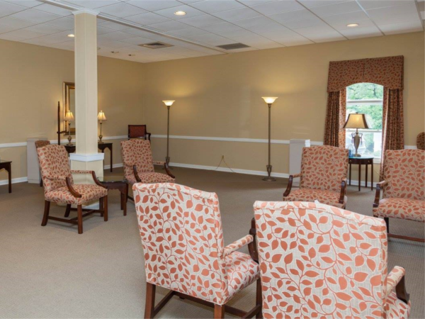 Lane Funeral Home Interior