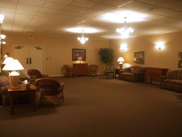 Buck Ashcraft Funeral Home Interior