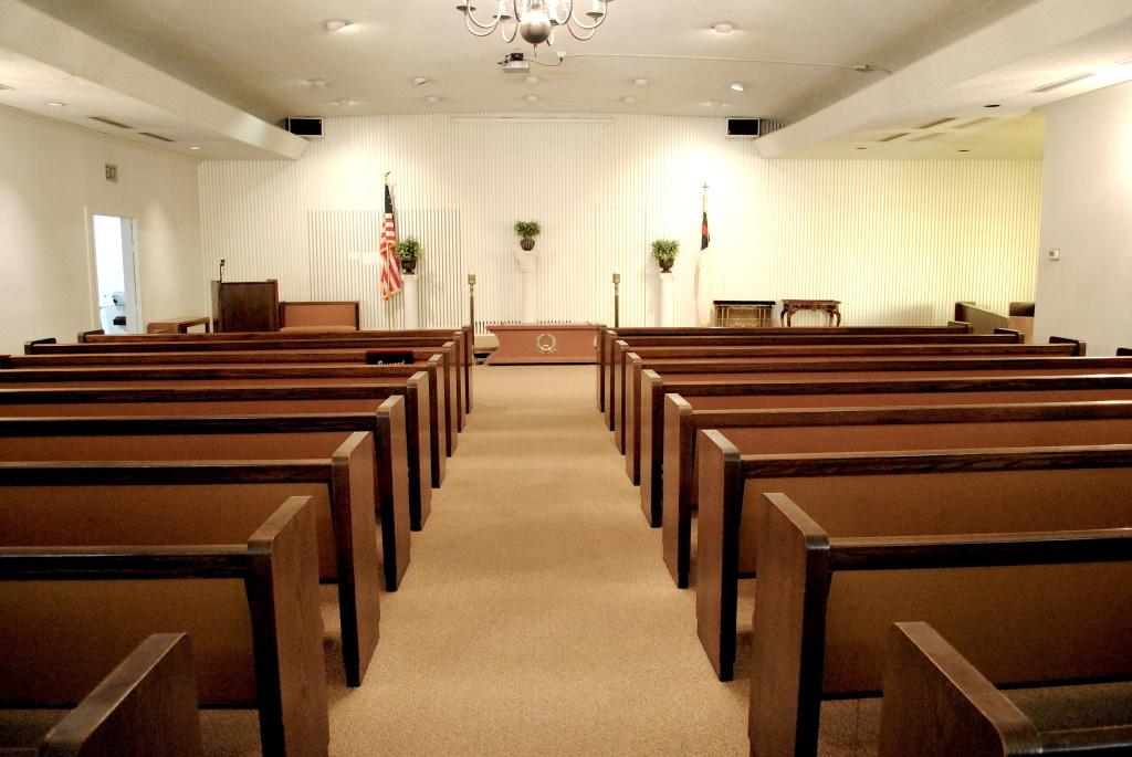 LaGrone-Blackburn-Shaw Funeral Directors - Martin Road Chapel Interior