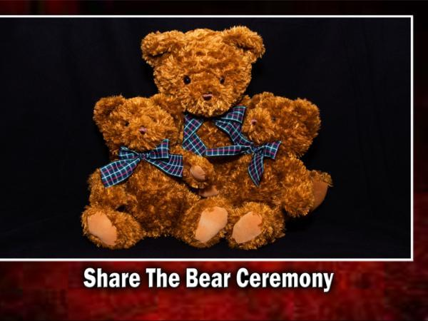 Ceballos-Diaz Funeral Home Share the Bear Ceremony
