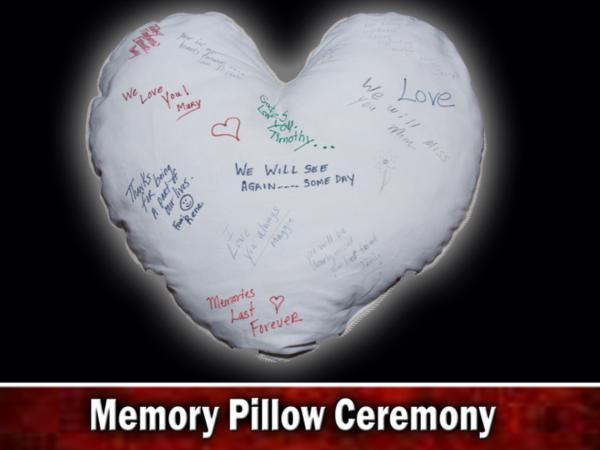 Ceballos-Diaz Funeral Home Memory Pillow Ceremony