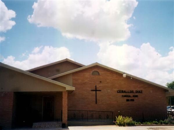 Ceballos-Diaz Funeral Home Exterior